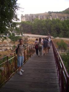 En el puente de San Pablo